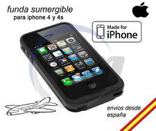 Funda Carcasa sumergible iPhone 4 tipo Lifeproof Impactos Resistente Agua