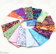 Lot 3sets/9pcs Chinese Vintage Silk Coin Purse Women Wallet Pouch Card Bag