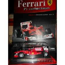 Ferrari Collection F1 F10 Fernando Alonso 2010 + fascicolo Fabbri DIE CAST 1:43