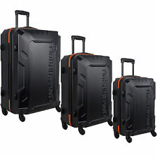 TIMBERLAND BOSCAWEN BLUE 3 PIECE HARDSIDE SPINNER LUGGAGE SET  - $1080 VALUE