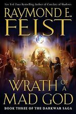 Wrath of a Mad God (The Darkwar Saga, Book 3), Raymond E. Feist, Good Condition,