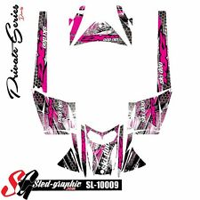 SLED WRAP DECAL STICKER GRAPHICS KIT FOR SKI-DOO REV MXZ SNOWMOBILE 03-07 10009