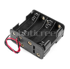 Plastic RC 8xAA Battery Case Box Holder Pack with Wire 12V