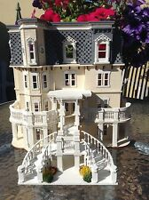 1/48 dolls house Mansion, 10 rooms, finished building