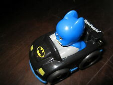 Fisher Price Little People Wheelies DC Super Friends Batman Car Figure Vehicle