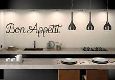 Cocina Pared Arte Cita Vinilo transferencia Decal Sticker Murales Decoración Bon Appetit