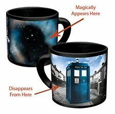 NEW BBC TV Series Doctor Who Disappearing Tardis Coffee 12oz Mug