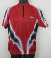 Crane Cycling Retro Red Jersey Vtg Top Shirt Trikot Maillot Maglia Small S