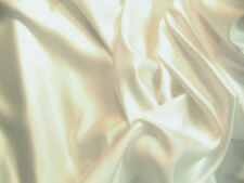 Ivory Duchess Satin Bridal Wedding Dress Fabric 150cm Wide SOLD PER METRE