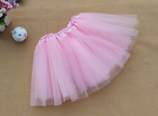 Womens Girls Princess Ballet 3 Layers Tulle Tutu Skirt Wedding Prom Rockabilly