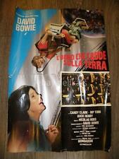 DAVID BOWIE L'uomo che cadde sulla terra Man Who Fell to Earth original poster