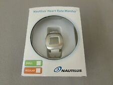 Nautilus Strapless Heart Rate Monitor (Small, White/Silver)
