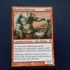 1x HEARTLESS HIDETSUGU - Rare - Conspiracy - MTG - NM - Magic the Gathering