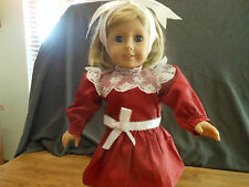 American Girl Doll Samantha's Holiday dress
