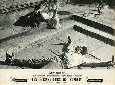 GUY ROLFE THE STRANGLERS OF BOMBAY HAMMER 1959 VINTAGE LOBBY CARD #1