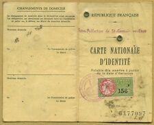 Carte Nationale D'Identité de FRANCE 1993 with Revenue 150 Fr.