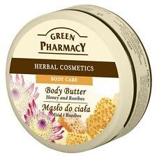 064 Green Pharmacy Body Butter-BURRO CORPO MIELE E Roiboos 0% Paraben 200ml