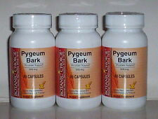 PYGEUM BARK 500MG  PROSTATE SUPPORT MALE URINARY HEALTH INCONTINENCE 180 CAPSULE