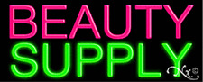 """BRAND NEW """"BEAUTY SUPPLY"""" 32x13 REAL NEON SIGN w/CUSTOM OPTIONS 10021"""