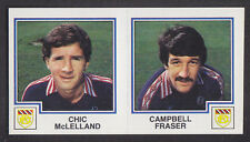 Panini - Football 83 - # 413 McLelland / Fraser - Dundee