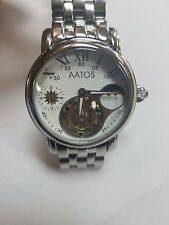 AATOS TIAGO TOURBILLON/DUAL TIME/FLYING MENS WATCH