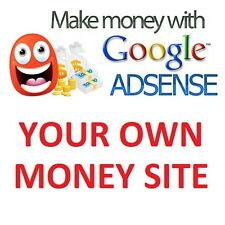 Established Google AdSense website - make $60/month with niche websites!