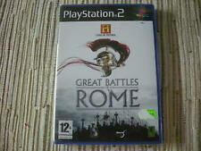 CANAL DE HISTORIA GREAT BATTLES OF ROME PLAYSTATION 2 PS 2 NUEVO Y PRECINTADO
