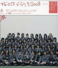 AKB48 Sakura No Hanabiratachi Japan CD DFCL-1447 Single 2008 OBI