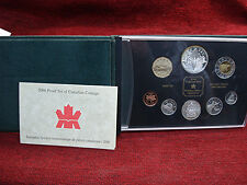 2000 CANADA 8 COIN PROOF SET - LOTS OF SILVER IN THIS SET - NICE