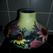 Old Tupton Ware Vase vivid coulors nice condition