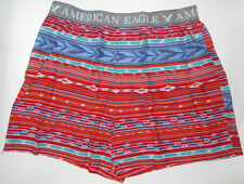 MENS AMERICAN EAGLE GEO TRIBAL BOXER SHORTS SIZE XL (40/42)