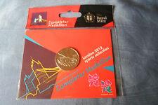 COMPLETER MEDALLION LONDON OLYMPICS 2012 sealed