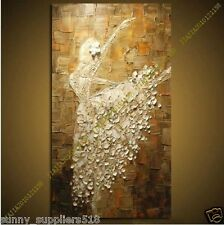 Modern Large Wall Decor 100% artist hand-painted Oil Painting canvas (NO frame)