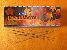 incense sticks Rustic leaves fine fragrances Original,By Satya HERBAL EDH