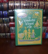 The Wonderful Wizard of Oz by F. Baum Sealed Leather Bound Collectible 1st Ed