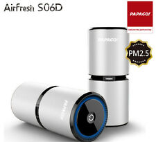 PAPAGO Air fresh S06D Air Purifier use in car and at home /PM2.5