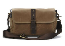 ONA The Bowery - Premium Canvas Camera Bag / Insert - FIELD TAN