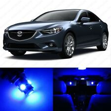 7 x Ultra Blue LED Interior Lights Package For 2009 - 2013 Mazda 6