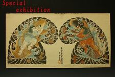 Japan Antique irezumi tattu Paintings & Scroll yoroi kakejiku Armor samurai