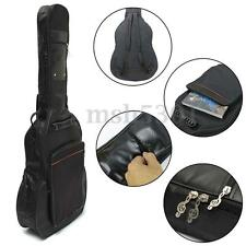 41'' Acoustic Guitar Double Straps Padded Guitar Soft Case Gig Bag Backpack New