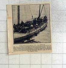 1925 Clacton's Lifeboat To The Rescue Of Plymouth Ketch Rosina