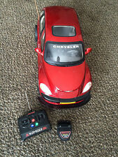 PT Cruiser Remote Control New Bright Red Car Chrysler Scale 6:1 Radio Controlled