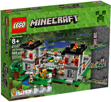 NEW LEGO MINECRAFT THE FORTRESS Set 21127 sealed box nib nisb gold steve horse