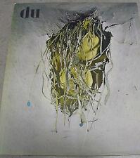du 316 HUGENTOBLER Die Schönen von Dakar GÜRESCH 6/1967 Kulturelle Monatsschrift
