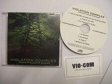 VIOLATION COMPLEX Hostis-Humani-Generis – 2009 CD sampler – Death Metal – RARE!