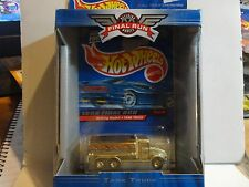 Hot Wheels Final Run Gold Chrome Tank Truck w/Real Riders