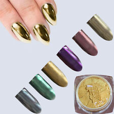 2g/Box Nail Art Shiny Glitter Mirror Effect Gel Polish Sand Shimmer Nail  #C6
