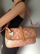 Dooney and Bourke Purse Bag Crossword Collection Designer Fashion Stylish Chic.