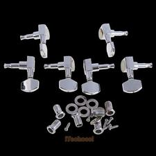 6 Pro Chrome 3L+3R Guitar String Tuning Pegs Keys Tuners Machine Heads S #T1K