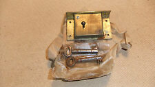 "Vintage L & F, Lowe & Fletcher 2.3/4"" Lock & Keys, Unused Old Stock Dated 1946"